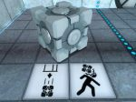 Watch out for falling cubes, as they may cause dismemberment and/or death.